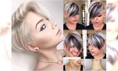 Krótkie fryzury z grzywką - 20 kobiecych cięć na lato
