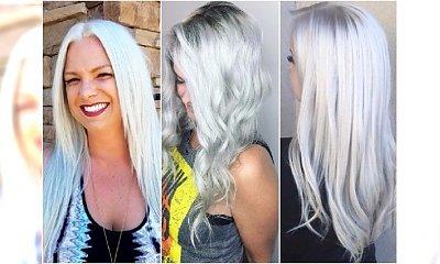 Ice blonde - zimny blond na upalne lato. Niezwykły odcień z błękitnymi tonami!