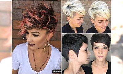 Krótkie fryzury w modnych stylizacjach. Proste i bardzo kobiece!