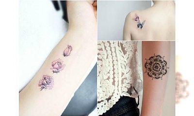 Małe tatuaże urocze jak nigdy dotąd! 30 ślicznych wzorów dla dziewczyn