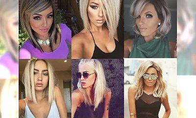 Krótkie i półdługie fryzurki dla wszystkich blondynek, które pragną błyszczeć