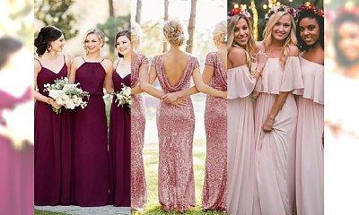 Druhny na ślubie - co i jak? Czy to możliwe w Polsce? Galeria pięknych stylizacji