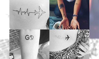 Piękne tatuaże dla miłośniczek PODRÓŻY - galeria wyjątkowych wzorów