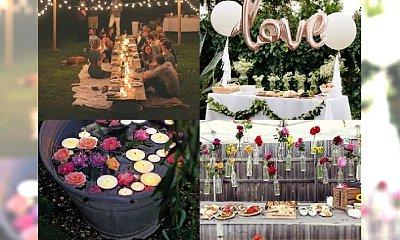 Garden party - idealna opcja na poprawiny, urodziny lub (nie)zwykłe przyjęcie dla znajomych. Śliczne inspiracje!