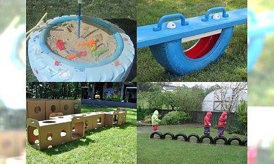 WOW! Genialne pomysły DIY na plac zabaw dla Twojego dziecka nawet w najmniejszym ogródku!