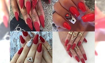 Klasyczna czerwień w letniej odsłonie - manicure idealny na wesele i randkę