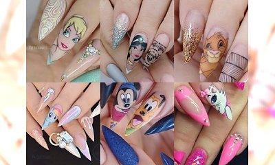 Śliczne paznokcie z bohaterami bajek - galeria nietuzinkowych propozycji na manicure