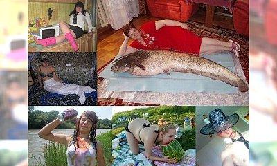 """Ich sposób na podryw jakoś do nas nie przemawia! Takie tam """"zwyczajne"""" fotki z rosyjskich portali randkowych!"""