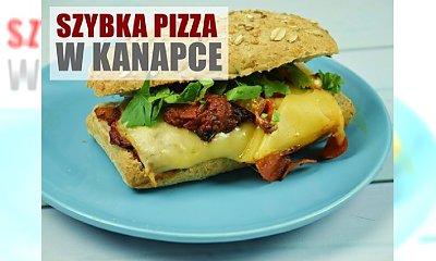 Ekspresowa pizza w kanapce