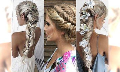Fryzury na wesele - najpiękniejsze warkocze i plecione upięcia