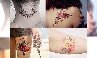 Flowers tattoos - najpiękniejsze wzory, które skradną Twoje serce!
