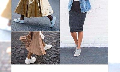 MODA 2017: Jak nosić sportowe buty do sukienki i spódnicy? 20 propozycji na lato!