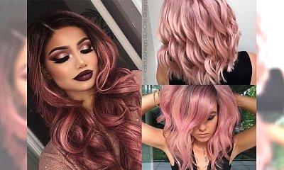 Koloryzacja ROSE GOLD dla blondynek - galeria odświeżonych inspiracji, które skradną Twoje serce