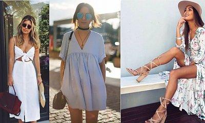 Przegląd najpiękniejszych sukienek na lato 2017, które warto zabrać na urlop