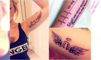 Tatuaże dla mam aniołkowych - czy to dobry pomysł? Zobaczcie, jakie wzory cieszą się największą popularnością