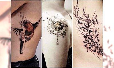 Nowoczesne tatuaże dla kobiet - zaskakujące WZORY, oryginalne motywy