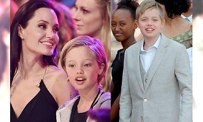 SZOK! Córka Jolie i Pitta przejdzie kurację, by stać się chłopcem?