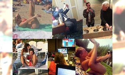Poznaj 23 osoby przyłapane na ŻAŁOSNYM robieniu selfie! Przetrzesz oczy ze zdumienia! Co autor miał na myśli…?!