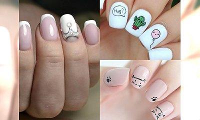 Totalnie słodkie i urocze stylizacje paznokci - dla marzycielek i romantyczek