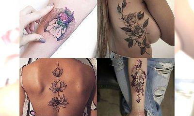 Kilkanaście bardzo kobiecych tatuaży - przegląd trendów 2017!