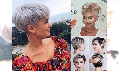 Fryzurki dla krótkich włosów, które hipnotyzują! Galeria najnowszych fryzjerskich trendów!