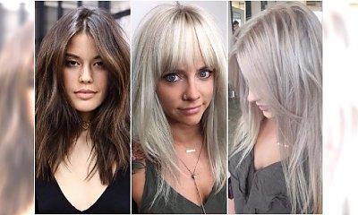 Modne fryzury półdługie: cieniowane, z grzywką. Podsuwamy pomysły na kobiece cięcie!