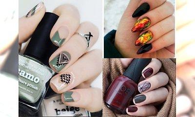 Czas na jesienny manicure! Śliczne inspiracje, które pozwolą Wam stylowo rozpocząć sezon