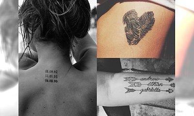 Poruszające tatuaże dla matek, które chcą wyrazić swą miłość do dzieci