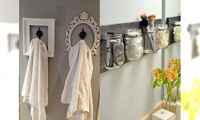 Proste, tanie i efektywne patenty na podrasowanie każdej łazienki - śliczne inspiracje z sieci