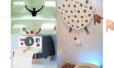 Najzabawniejsze i najciekawsze stojaki na papier toaletowy, jakie kiedykolwiek widzieliście!