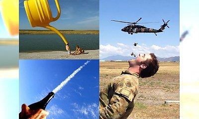 Najbardziej pomysłowe zdjęcia z sieci, które igrają z perspektywą... Przyjrzyj się dokładnie!!