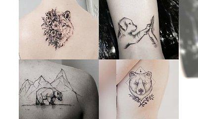 Zapierające dech w piersiach tatuaże z motywem zwierząt - CUDOWNE!