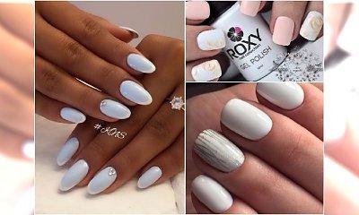 Jasny manicure na specjalne okazje - 20 eleganckich wzorków