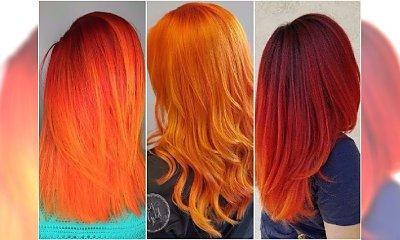 Rude kolory włosów - 20 płomiennych odcieni idealnych na jesień