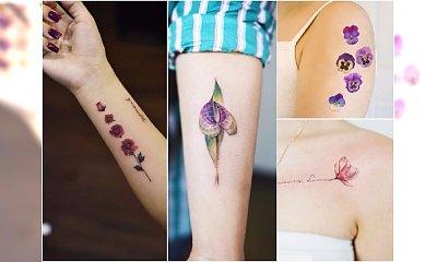 Małe tatuaże kwiaty - te wzory to prawdziwe perełki!