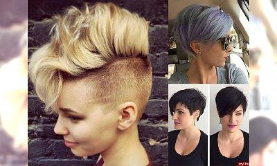 Krótkie fryzurki, którym się nie oprzesz! Gorące fryzjerskie trendy 2017/2018!