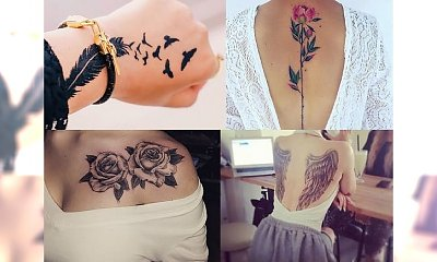 Tatuaże, jak z najlepszych salonów! Postaw na stylowy motyw, od którego nie można oderwać wzroku!