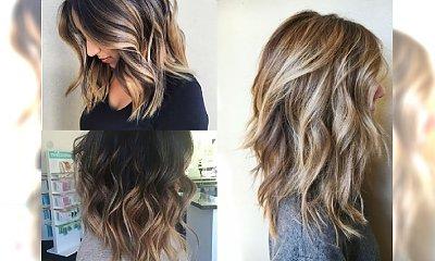 Falowany long bob - klasyczna fryzura, za którą absolutnie przepadamy. Śliczne inspiracje z sieci