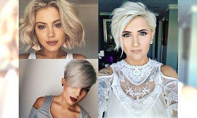 Uwodzicielskie krótkie boby i pixie cut dla blondynek - przegląd najnowszych inspiracji