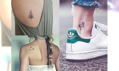 Subtelne, kobiece tatuaże dla każdej z Was - śliczne inspiracje z internetu