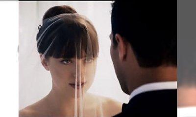 Nowe oblicze Greya! Anastasia i Christian biorą ślub. Zobaczcie, jaką będzie mieć suknię ślubną!