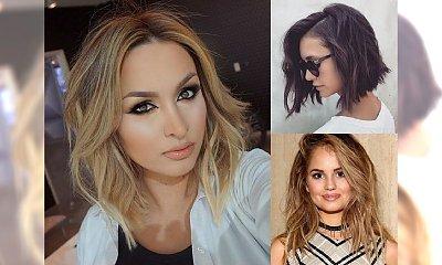 Półdługie cięcia 2017/2018 - dziewczęce fryzurki, które odświeżą Twój look!
