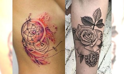 Gorące trendy tatuażu 2017/2018 - TOP 15-stka!