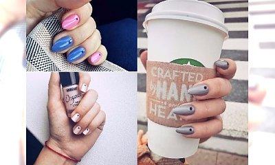 """Manicure 2017: paznokcie z kropką - mała rzecz, a cieszy. Zobacz propozycje na """"dots nails""""!"""