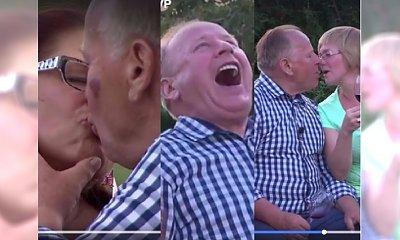 """Rolnik szuka żony: 72-letni Mikołaj pocałował 2 kandydatki JEDNA PO DRUGIEJ. """"A teraz z języczkiem"""""""