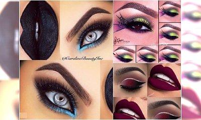Makijaż oczu na Halloween - mroczny i stylowy. 20 idealnych propozycji na imprezę!