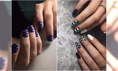 Nowy pomysł na paznokcie ombre. Były już geometryczne wzorki, teraz czas na paski!