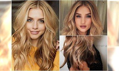Honey blonde - śliczny kolor dla blondynek idealny na jesienną metamorfozę
