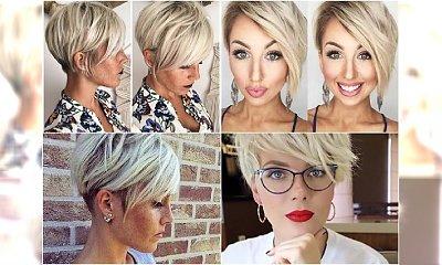 Krótkie blond fryzurki - odświeżona galeria stylowych propozycji