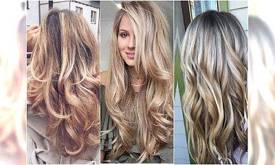 Koloryzacja dla blondynek w odcieniach LATTE - genialne inspiracje!